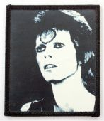 David Bowie - 'Black and White' Printed Patch
